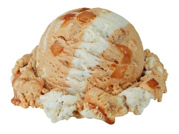 Inside Out Apple Pie Scoop