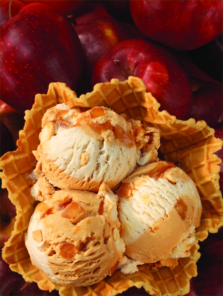 The Story Behind Baskin-Robbins' September Flavor of the Month, Inside Out Apple Pie