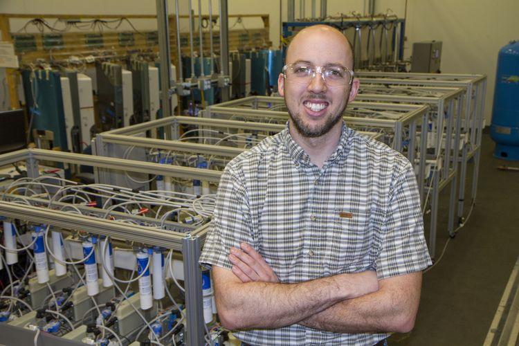 Corey Sweatt, GE Café French Door Refrigerator Employee