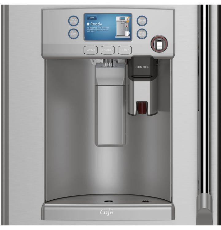 GE Café™ Series refrigerator with Keurig® K-Cup® brewing system