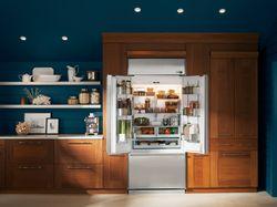 Luxurious Materials Define GE's First Monogram®  French Door Built-In Refrigerator