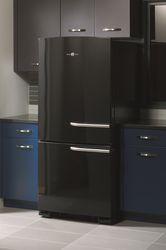 GE Artistry Series bottom-freezer refrigerator