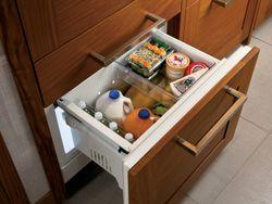 Entertaining Dream: GE 30-inch Monogram® Refrigerators Offer Sleek Styling, Chef-Inspired Features in Slim Housing