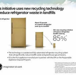 GE First Appliance Manufacturer to Partner with EPA on Responsible Appliance Disposal (RAD) Program