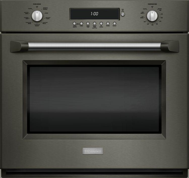 Monogram wall oven in Graphite