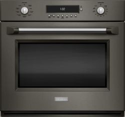 Monogram wall oven in Graphite