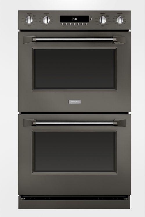Monogram double wall oven in Graphite