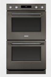 Monogram double wall oven in Graphite