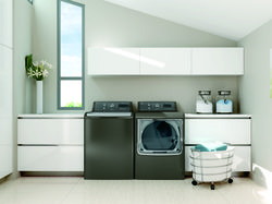"""Diminish """"Laundry Lag"""": Use Your Smartphone to Stay on Top of Laundry Mountain with GE's New High-Efficiency Washer and Dryer"""