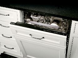 GE Monogram® fully-integrated dishwasher