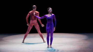 Jacqueline Green and Yannick Lebrun in Hans van Manen's Polish Pieces