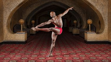 Alvin Ailey American Dance Theater's Jermaine Terry at Fox Theatre Atlanta