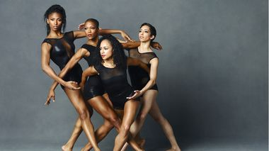 Jacqueline Green, Akua Parker, Linda Celeste Sims and Sarah Daley-Perdomo. Photo by Andrew Eccles