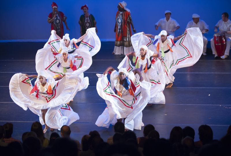 Afro-Cuban World Dance Celebration performance 2012