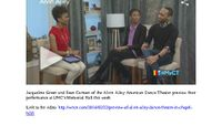 WNCN - Preview Of Alvin Ailey Dance Theater In Chapel Hill