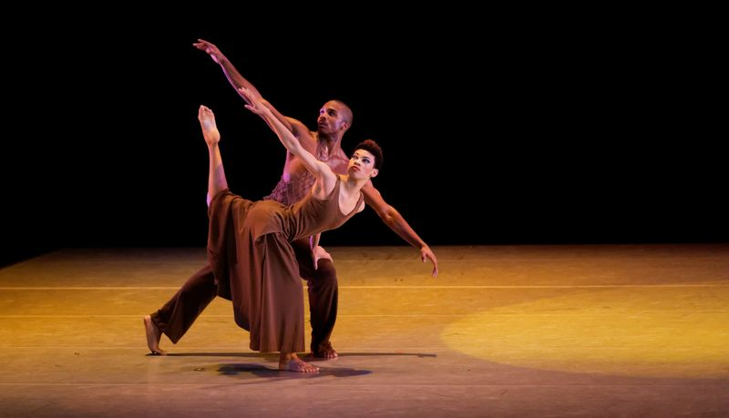 AAADT's Ghrai DeVore and Michael Jackson Jr. in Alvin Ailey's Revelations