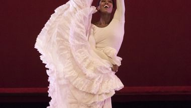 Alvin Ailey American Dance Theater's Rachael McLaren in Alvin Ailey's Cry.