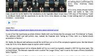 WABE 90.1 FM - Robert Battle, Alvin Ailey Dance For Silenced Voices