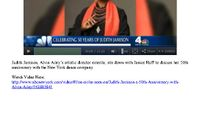 NBC 4 - Judith Jamison's 50th Anniversary With Alvin Ailey