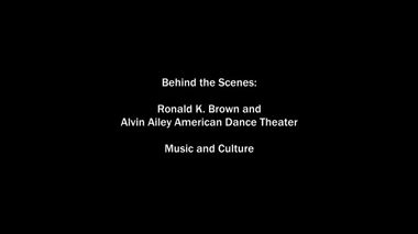 The Making of Ronald K. Brown's Open Door Part 2