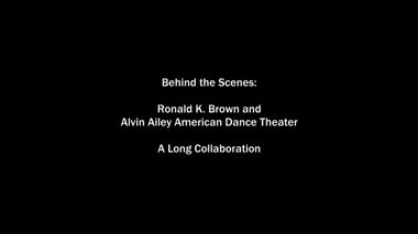The Making of Ronald K. Brown's Open Door Part 1