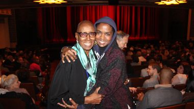 Artistic Director Emerita Judith Jamison and Lauryn Hill