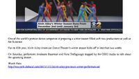 CBS New York - Alvin Ailey American Dance Theater Previews Winter Season Performances