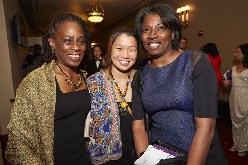 First Lady of NYC Chirlaine McCray and guests. Photo by Dario Calmese Jr