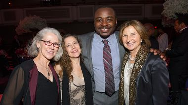 Cathryn Williams, Guest, Artistic Director Robert Battle and Simin Allison