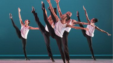 Alvin Ailey American Dance Theater in Talley Beatty's Toccata