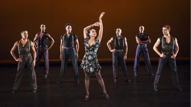 Alvin Ailey American Dance Theater in Paul Taylor's Piazzolla Caldera