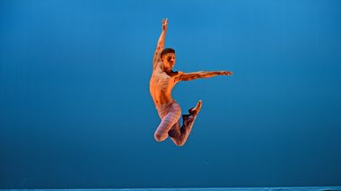 Former Ailey II Dancer Terrell Spence  in Robert Battle's Takademe