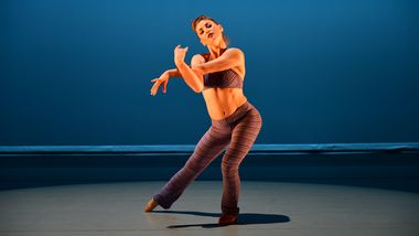 Former Ailey II Dancer Deidre Rogan in Robert Battle's Takademe