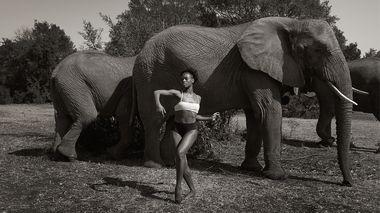 Rachael McLaren in South Africa