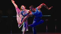 Alicia Graf Mack and Jamar Roberts in A Case of You excerpt from Judith Jamison's Reminiscin'