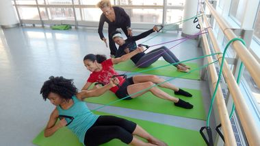 Ailey Barre Class at Ailey Extension