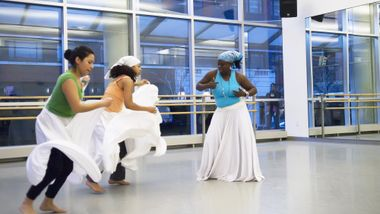 Afro-Cuban Class at the Ailey Extension