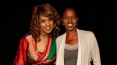 Jennifer Holliday and former Ailey principal dancer and National Director of AileyCamp, Nasha Thomas