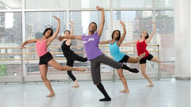 Contemporary class at the Ailey Extension