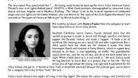 WILES Magazine - Alvin Ailey American Dance Theater's Danica Paulos