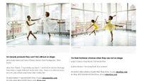 Elle Magazine - Alvin Ailey Dancers Take On Spring's Best Dresses