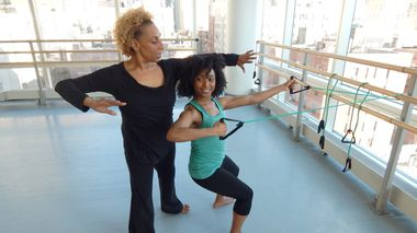 Ailey Barre at The Ailey Extension
