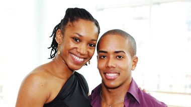 Demetia Hopkins-Greene and Daniel Harder