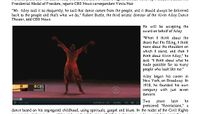 CBS This Morning - Obama To Honor Icon Of American Dance