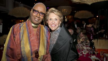 Judith Jamison and Joan Weill