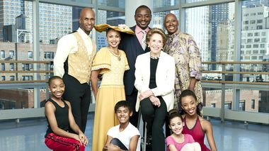 Joan Weill, Robert Battle, Judith Jamison, Glenn Allen Sims, Linda Celeste Sims & students from The Ailey School