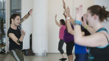 Zumba Class at The Ailey Extension