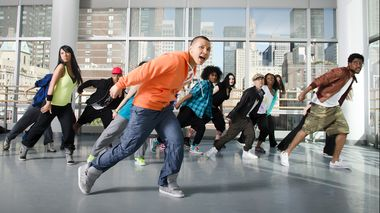 Hip-Hop Class at Ailey Extension