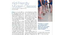 Dance Teacher - Kid-Friendly Modern Classes: Creative Movement's Natural Next Step