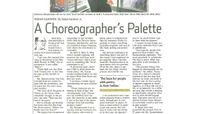 The Wall Street Journal - A Choreographer's Palette